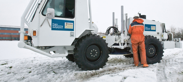 fugro roames geophysics machinery