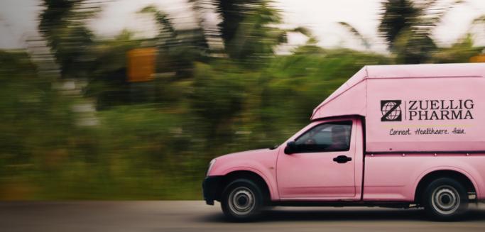 zuellig pharma distribution truck