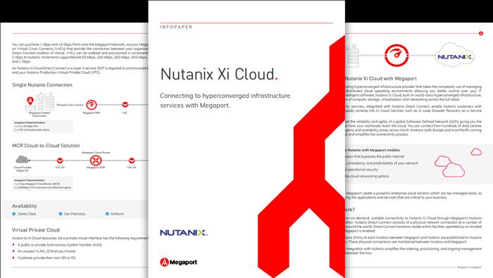 Nutanix Infopaper