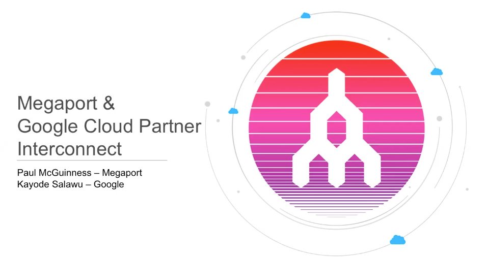 Megaport and Google Cloud Partner Interconnect Webinar Thumbnail
