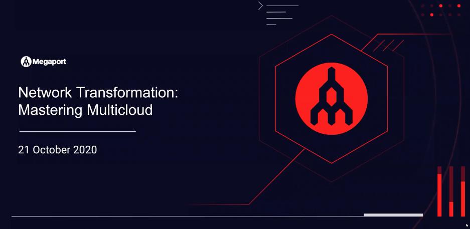 Network Transformation: Mastering Multicloud Webinar Thumbnail